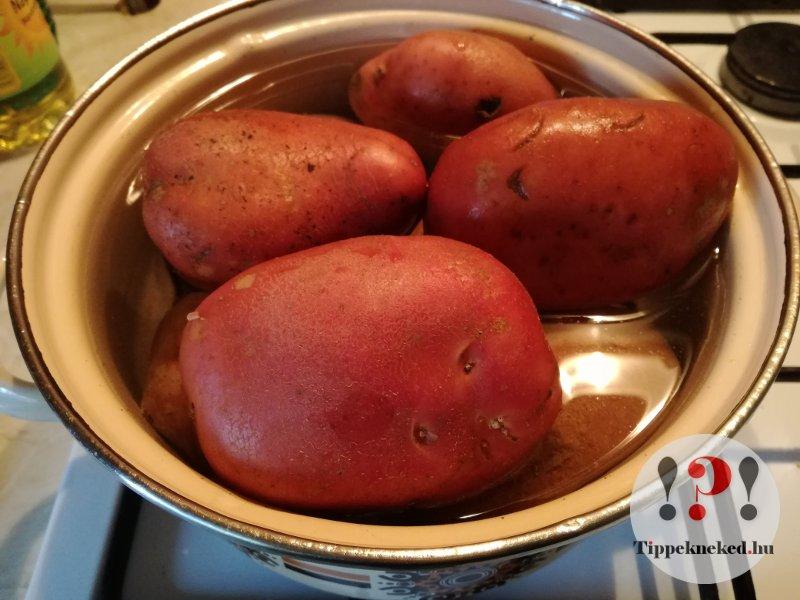 Főtt krumpli kisokos: krumpli főzés, maradék hasznosítás