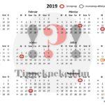 Ekkor lesz hosszú hétvége 2019-ben: Könnyen átlátható, részletes naptár