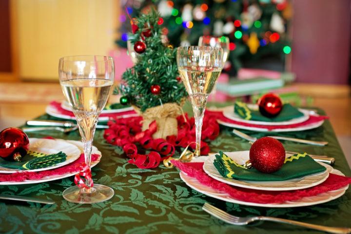 Karácsonyi dekoració konyhába