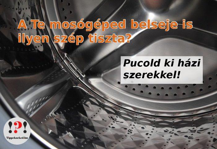 Mosógép tisztítás házilag