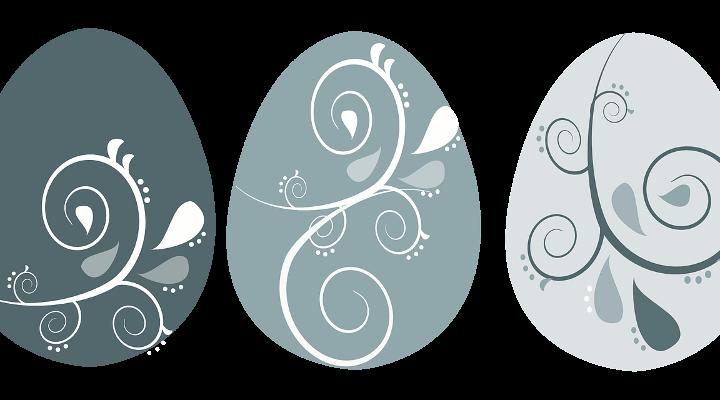 Húsvéti tojásfestés: minta