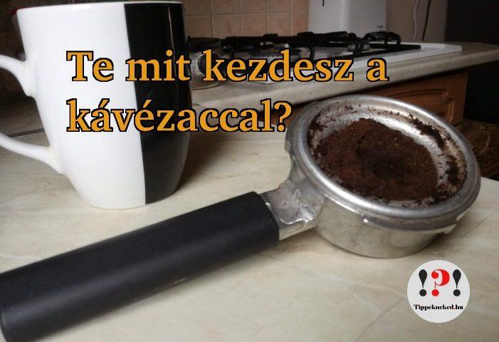 Mit kezdessz a kávézaccal?
