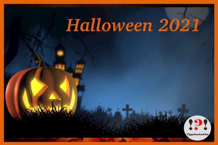 Mikor van Halloween 2021-ben? Halloween időpontja.