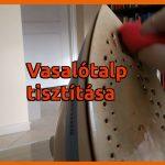 Kerámia vasalótalp tisztítása