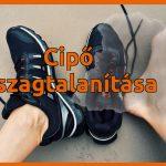 Büdös cipő szagtalanítása házilag