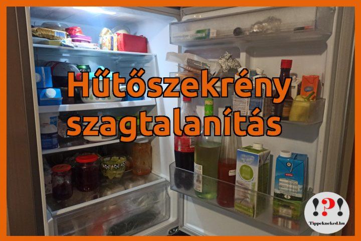 Hűtő szagtalanítás