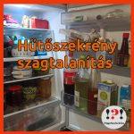 Hűtőszekrény szagtalanítása házilag
