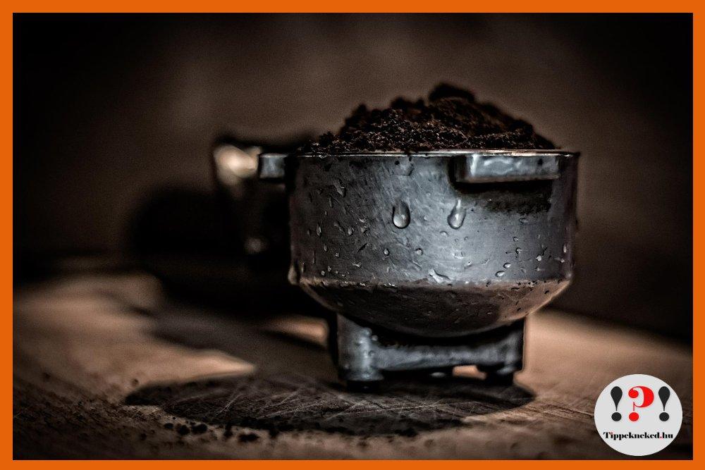 Kertgondozás kávézaccal - Nézd meg!