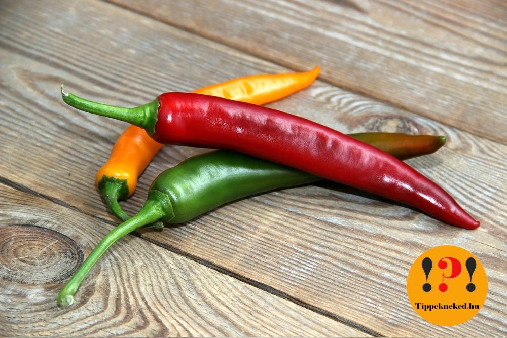 Mielőtt felhasználod, kóstold meg a paprikát: mennyire fog csípni?