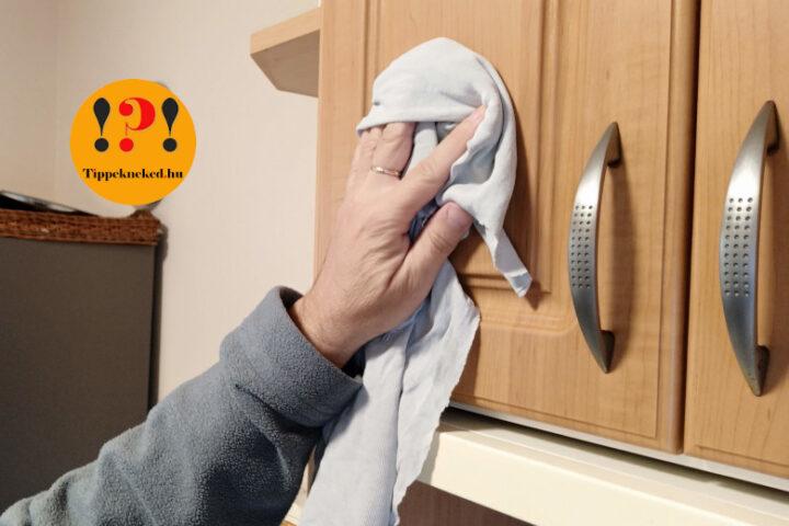 4 szuper házi szer, melyekkel könnyű a konyhabútor tisztítása